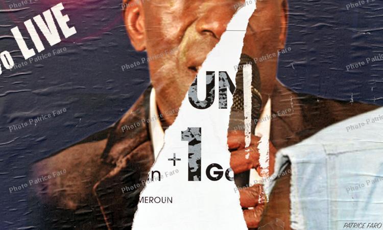 affiche déchirée - Patrice Faro
