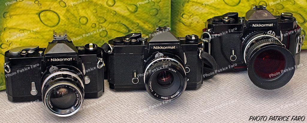 appareils photo argentique Nikon Nikkormat