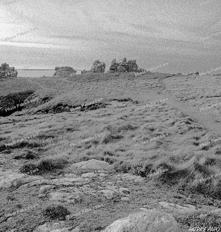 paysage Bretagne en noir et blanc - Photo Patrice Faro