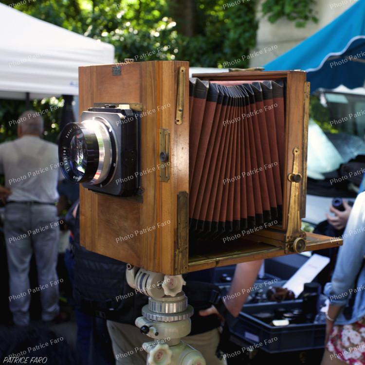 chambre photographique en bois - Photo Bricovidéo