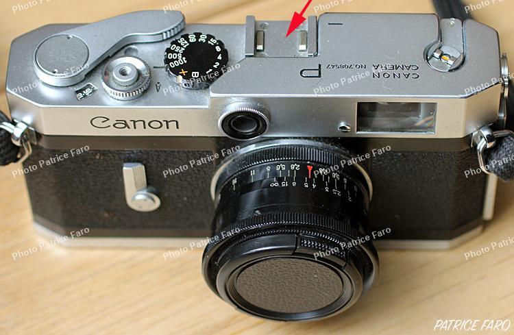 cellule pour argentique Canon P télémétrique