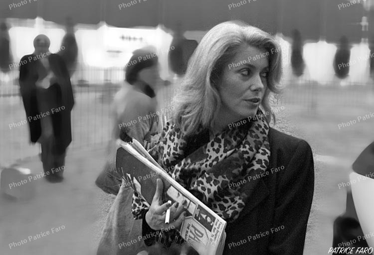 Catherine Deneuve défilé du Louvre - Photo Patrice Faro