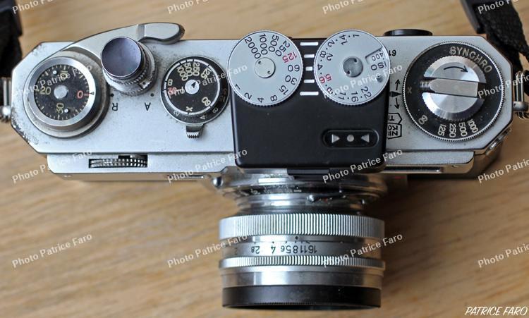 cellule Voigtlander VC-Meter II Nikon S2 télémétrique