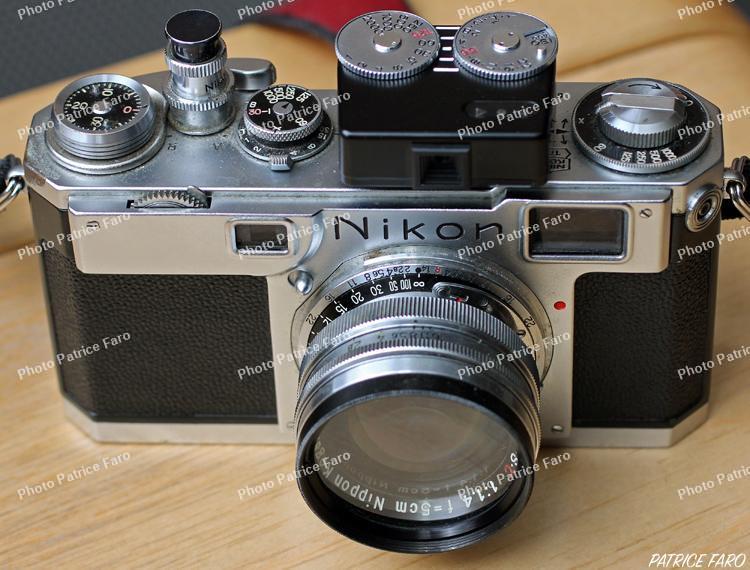 cellule Voigtlander VC-Meter II sur Nikon S2