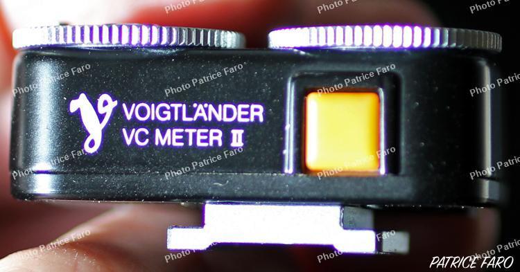 cellule Voigtlander VC-Meter II