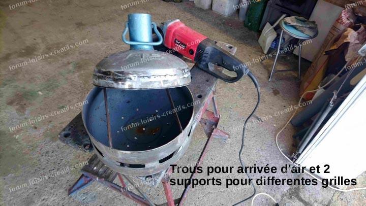 fabriquer un petit barbecue transportable