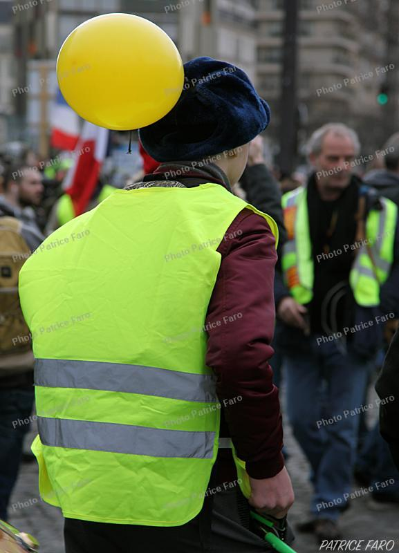 manifestations des gilets jaunes. Photo Patrice Faro