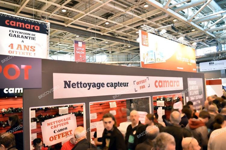 Nettoyage capteurs gratuit Salon de la Photo 2015