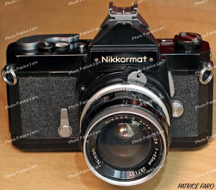 Nikkormat FT collection Patrice Faro