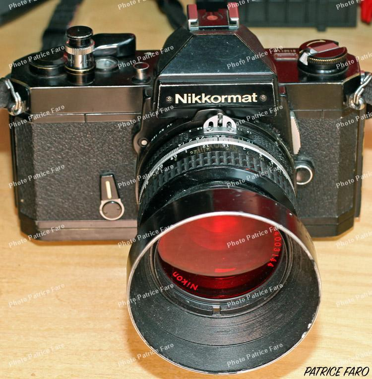 Nikkormat FT2 collection Patrice Faro