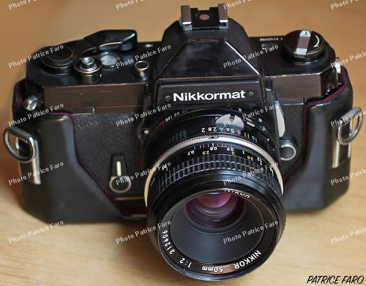 Nikkormat FT3 collection Patrice Faro
