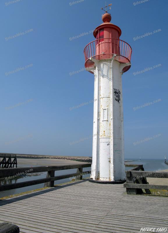 phare entrée de port - Photo Patrice Faro