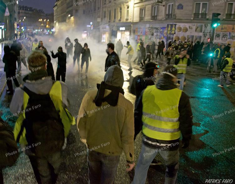 manifestations des gilets jaunes. Photo Patrice Faro