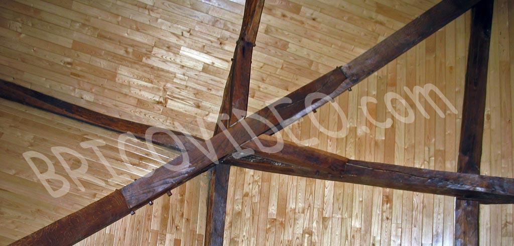R nover un plafond avec mat riau qui fasse ancien quel mat riau choisir pour un plafond - Refaire un plafond qui s ecaille ...