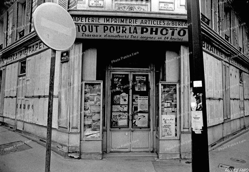 Premier laboratoire photo - Photo Patrice Faro