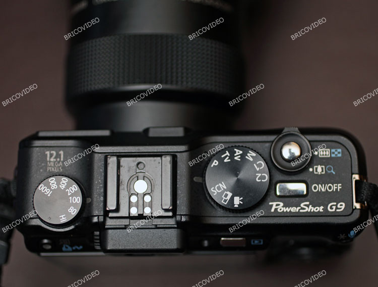 Réglage PowerShot G9 Canon