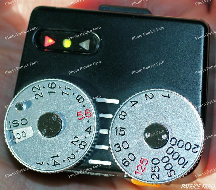 réglage cellule Voigtlander VC-Meter II