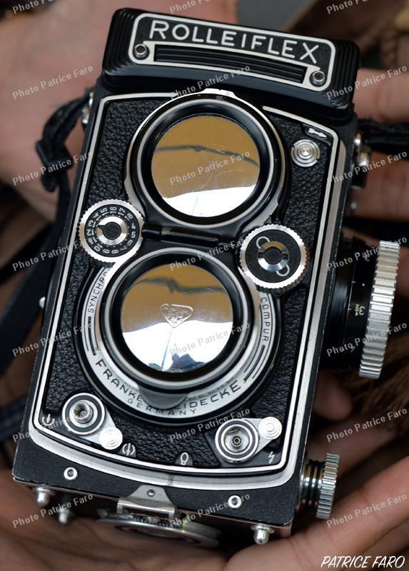 moyen format 6x6 Rolleiflex