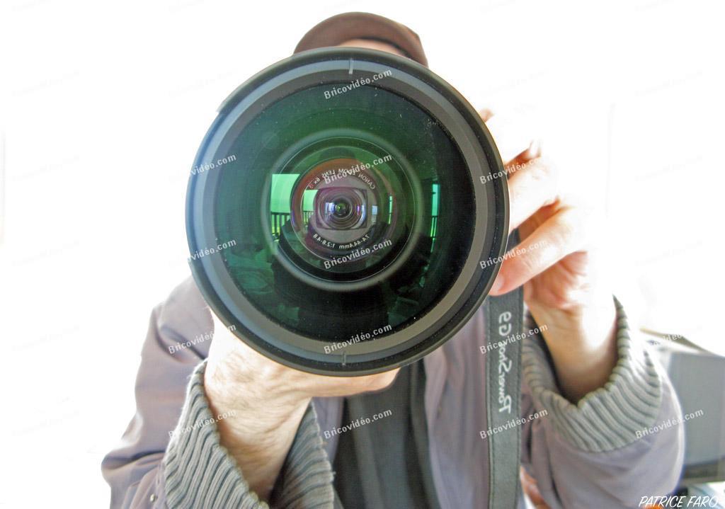 convertisseur grand angle Canon - Photo Patrice Faro