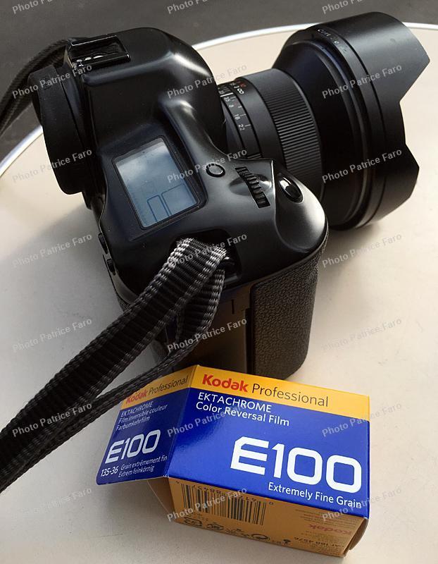 test Ektachrome E100 - Photo Patrice Faro