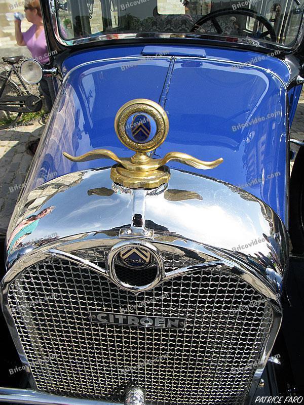 voiture ancienne Citroën - Photo Patrice Faro